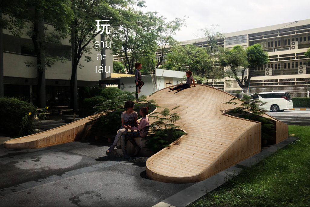 Ground Play Bangkok design week 2021